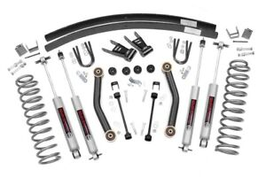 1984 2001 Jeep Cherokee Xj 4 5 Lift Kit W n2 0 Shocks