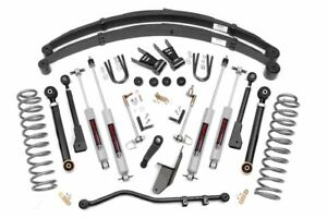 6 5 X flex Suspension Kit 1984 2001 Jeep Cherokee Xj with New Rear Springs