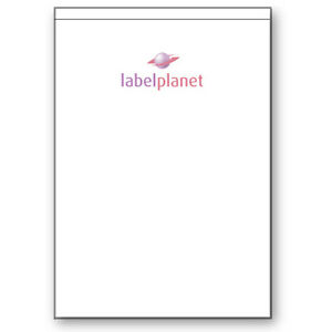1 Per Sheet Blank Transparent Polyester Waterproof A4 Clear Labels Label Planet