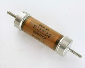 New Sprague 0 01uf 10 000v High Voltage Oil Capacitor Vitamin Q High Quality