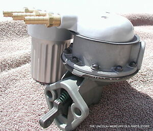 1958 1959 1960 Mercury Tri Power Ac Fuel Pump Cover Accessory Nothing Is Better
