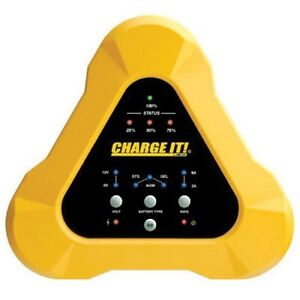 Clore 4506 Charge It Yellow 6 2 amp 6 12 volt Battery Charger