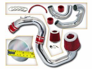 Bcp Red 04 09 Mazda3 2 0l 2 3l L4 Cold Air Intake Induction Kit Filter