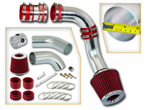 Bcp Red 99 05 Grand Am Alero 3 4l V6 Cold Air Intake Induction Kit Filter