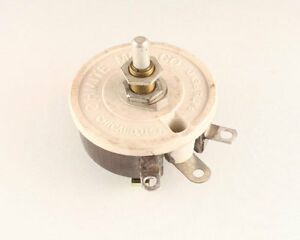 New 1 Pcs Of 0 5ohms 50watt Ohmite Rheostat 5 Ohm 50 W Rjsr50