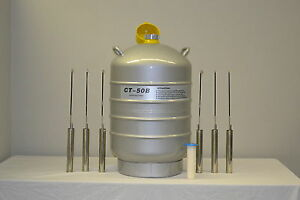 Ct 50 Ct Cryogenics Dewar Liquid Nitrogen Container