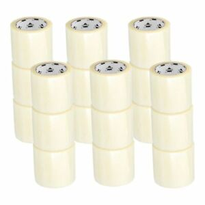 18 Rolls Clear Box Packing Shipping Tape 4 X 72 Yards 2 0 Mil Thick 18 Rls cs
