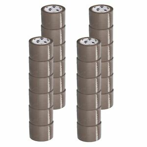 Premium Brown tan Carton Box Sealing Packing Tape 1 75 Mil 3 X 110 Yds 24 Rolls
