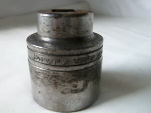 Snap on Ldh 582 Socket 1 13 16 12 point 3 4 Drive