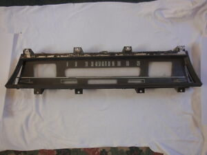 1967 Chevrolet Chevelle Dash Bezel With Lens Back Plate