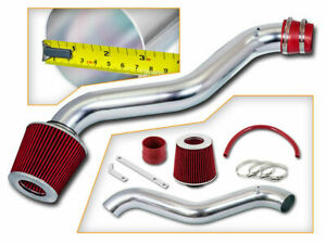 Bcp Red 98 02 Accord 2 3l L4 Short Ram Air Intake Induction Kit Filter