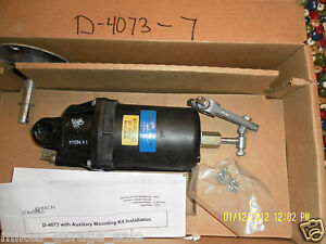 D 4073 7 Johnson Controls Damper Actuator 3 7 Spring Auxiliary Mounting
