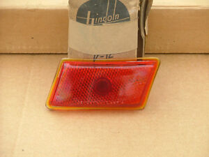 1941 Lincoln Zephyr Rear Taillight Lens Rh Nos Tail Light Lamp