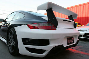 Porsche 997 Gt Trunk Spoiler Wing For 997 Turbo Coupe Cabriolet 2007 To 2012