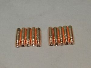 10 045 199389 Spoolmate 250 3545 Mig Welder Contact Tips Tubes Miller Parts