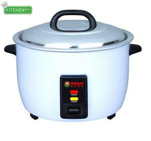 Welbon 100 Cups cooked Rice Commercial Rice Cooker