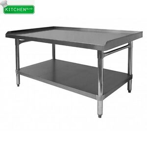 All Stainless Steel Equipment Stand 30 X 36 X 24