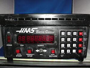 Haas Mill Rotary Table Indexer Servo Controller Single Phase Haas 40