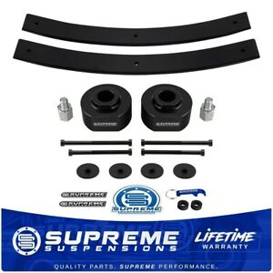 For 1980 1996 Ford Bronco Complete 2 Front 2 Rear Lift Level Kit 4x4 4wd Pro