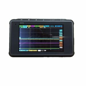 Arm Dso203 Digital Oscilloscope 4 Channel aluminum Case Silver black With Prob