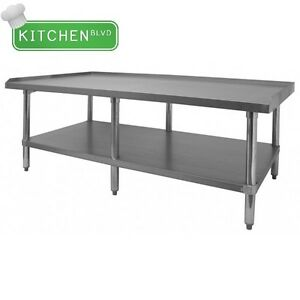 Equipment Stand 30 X 72 All Galvanized