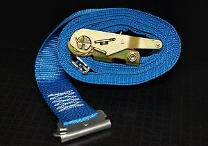 6ea 20 E Track Ratchet Straps Enclosed Trailer Cargo Trailer Van Tie Down Strap