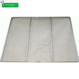 Stainless Steel Donut Frying Screen 23 w X 23 l