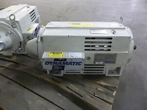Drive Source Dynamatic 3 Hp Dc Motor As 180306 01 Np 1 230 460