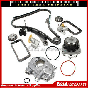 Ford 5 4l Vvti Timing Chain Kit Timing Cover Seal Updated Tensioners Water Pump