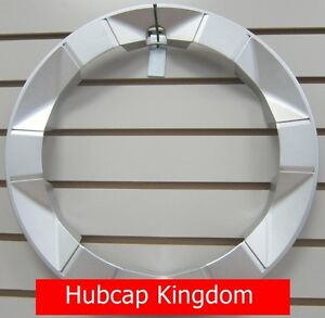 New 2004 2009 Toyota Prius Wheel Beauty Outer Trim Ring Silver