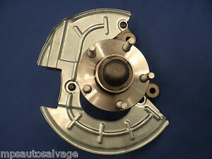 Right Sn95 94 95 Ford Mustang Spindle Hub 5 Lug Front New Dust Shield Rh
