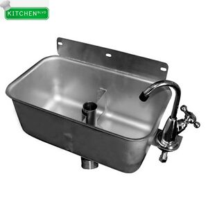Stainless Steel Table Mount Dipperwell Sink Nsf 10 W X 6 L X 4 H