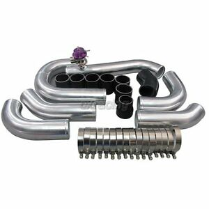 Front Mount Intercooler Piping Kit For 96 04 Ford Mustang 4 6l V8 Supercharger