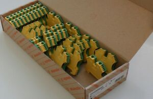Weidmuller 1010300000 Wpe 10 Terminal Block brand Newnbox Lot Of 31 C pics