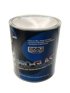 1 Gallon Usc Pro glas Fiberglass Reinforced Body Filler 25050 100 Waterproof