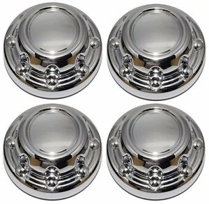 Dodge 2500 3500 1994 99 Pick up Truck 1998 03 Van Chrome Center Cap Set Of 4 New