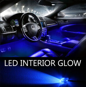 Blue Led Lights 20 Pack Interior Glow Lighting Car Truck Suv