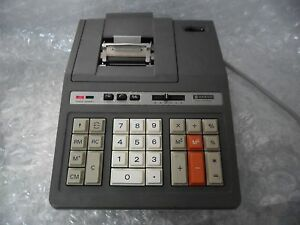 Vintage Sanyo Cy 2164p Cash Register Electronic Calculator Desktop Printer