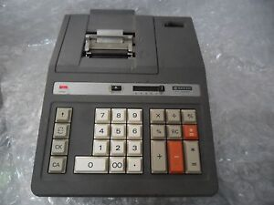 Vintage Sanyo Cy 2054p Cash Register Electronic Calculator Desktop Printer