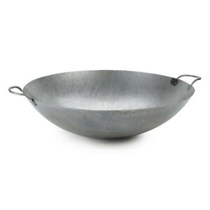 22 Hand Hammered Cantonese Wok Fast Shipping