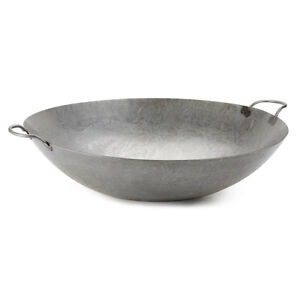 24 Hand Hammered Cantonese Wok Fast Shipping