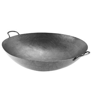 28 Hand Hammered Cantonese Wok Fast Shipping
