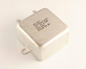 New Cp53b1ef205k 2uf 600v Paper In Oil Bathtub Capacitor 600vdc 2mfd