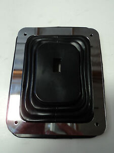 Hurst Rubber Shifter Boot With Chrome Plate 5 5 8 X 6 3 4 Manual Automatic 350