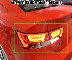 For The Led Tail Lights Lamp Assy 4p 1set for 2011 Kia Cerato Forte Koup