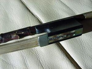 Vintage Violin Bow Riker 19th C More Bows And Violins In R Ebay Store