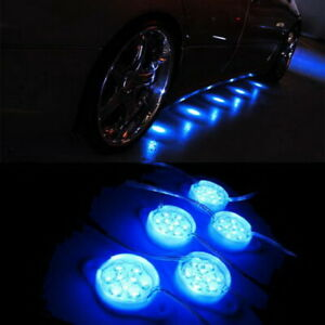 Blue 95 Brabus Style 45 Led Lights For Under Car Puddle Lighting Ground Effect