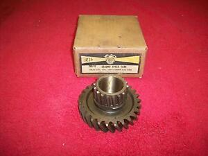 1955 63 Chevy 6 Cylinder Corvair Nos Second Speed Gear Sosmetal