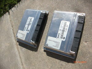 Year Of 1998 Bmw E38 V12 750il 750 750i Main Engine Motor Computer Dme X2