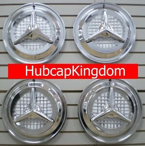 15 Oldsmobile Olds Fiesta Style Flipper Hubcaps Wheelcover Set